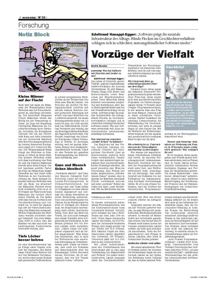 Heft Ausgabe Nr. 30 - Seite 4