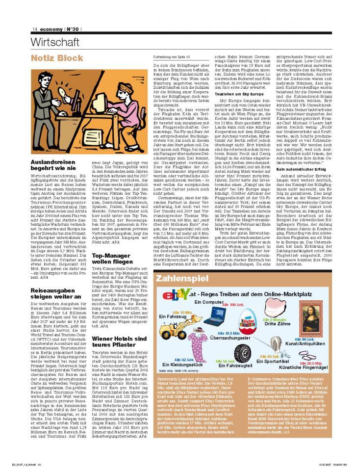 Heft Ausgabe Nr. 30 - Seite 14