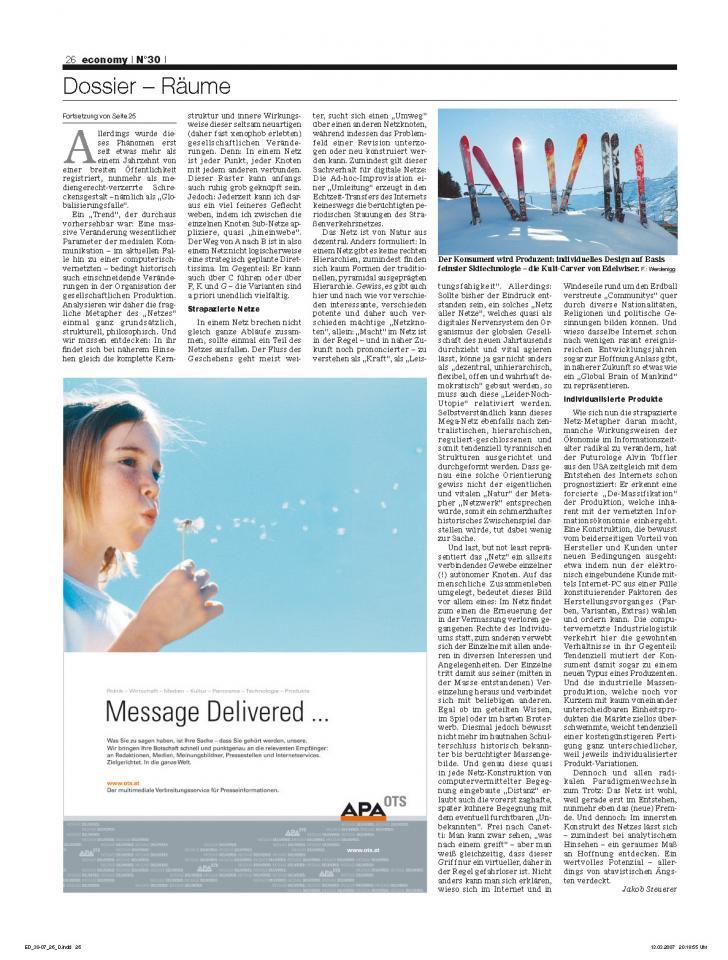 Heft Ausgabe Nr. 30 - Seite 26