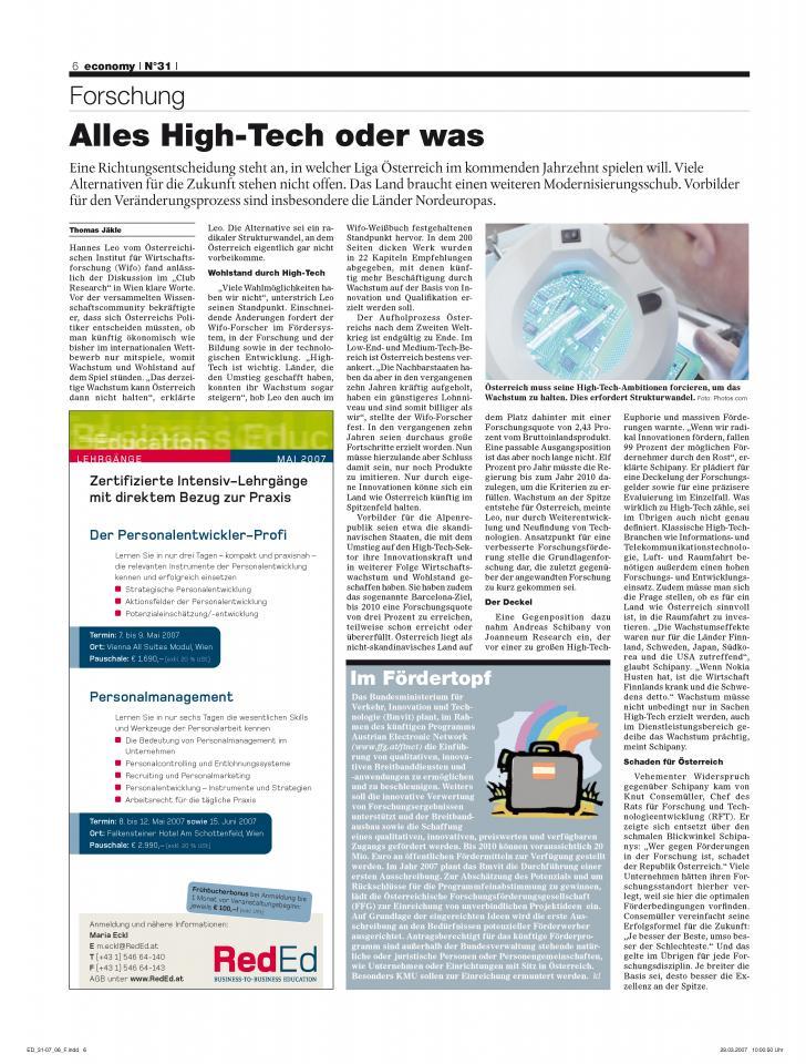 Heft Ausgabe Nr. 31 - Seite 6