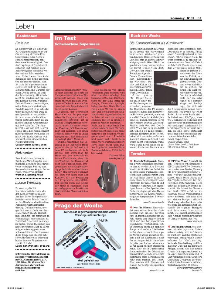 Heft Ausgabe Nr. 31 - Seite 31