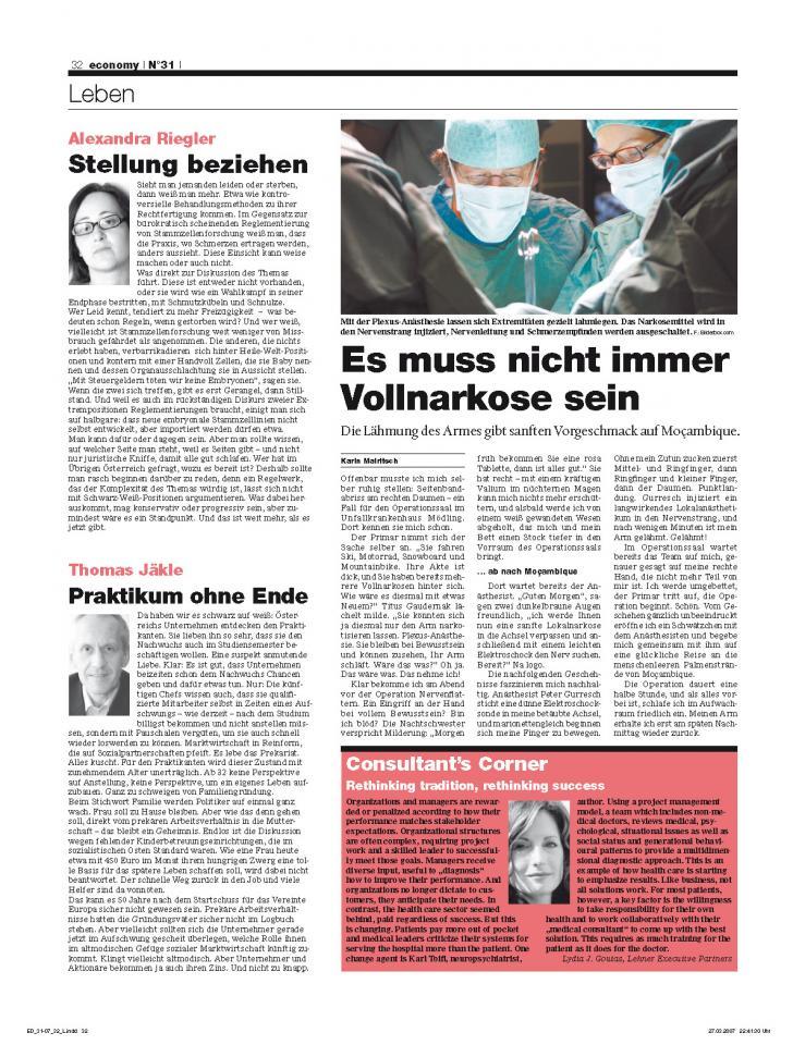 Heft Ausgabe Nr. 31 - Seite 32