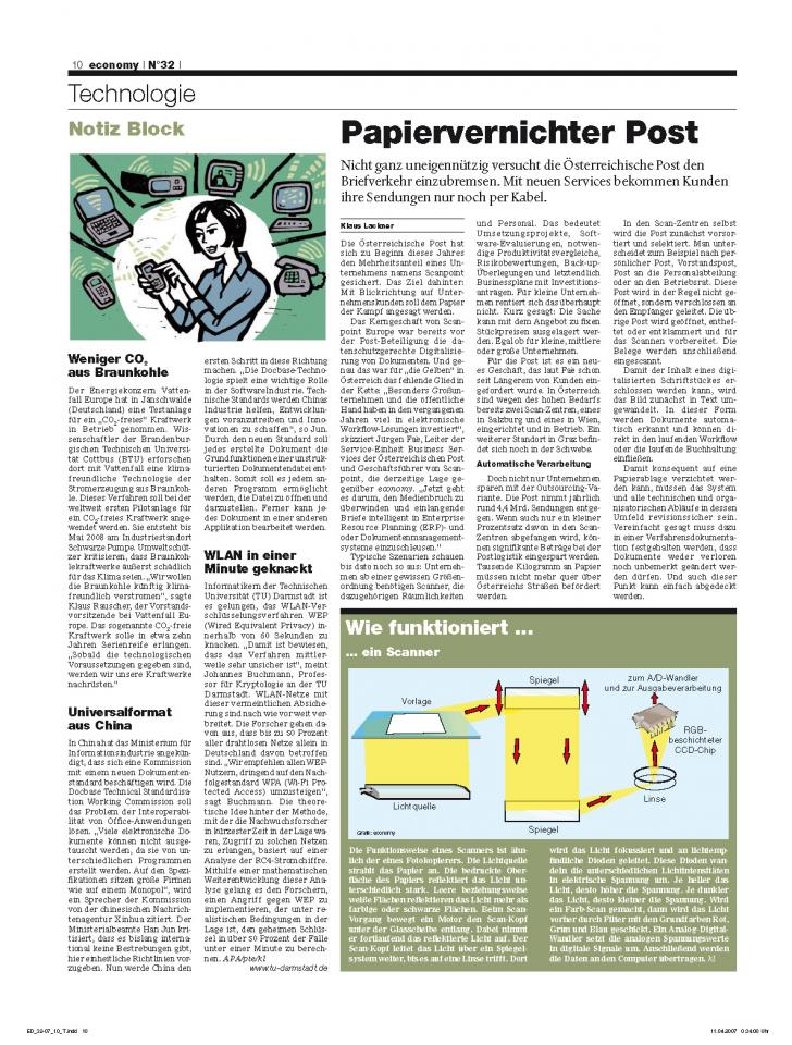Heft Ausgabe Nr. 32 - Seite 10