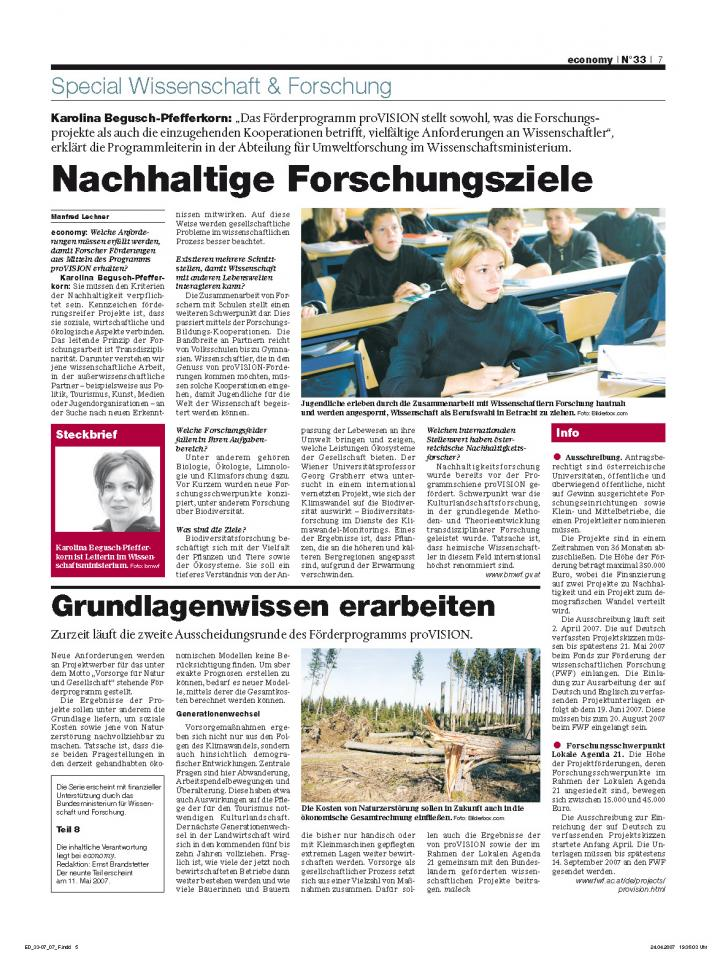 Heft Ausgabe Nr. 33 - Seite 7
