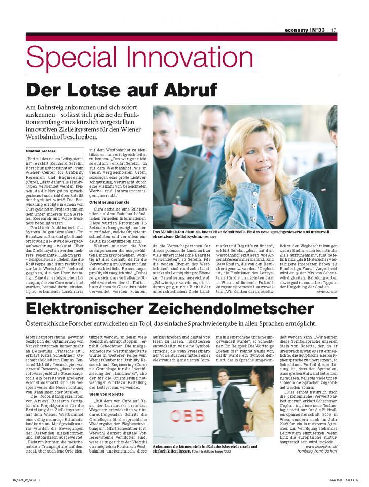 Heft Ausgabe Nr. 33 - Seite 17
