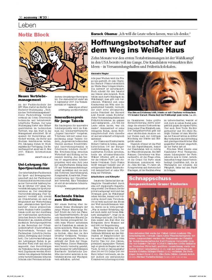 Heft Ausgabe Nr. 33 - Seite 30