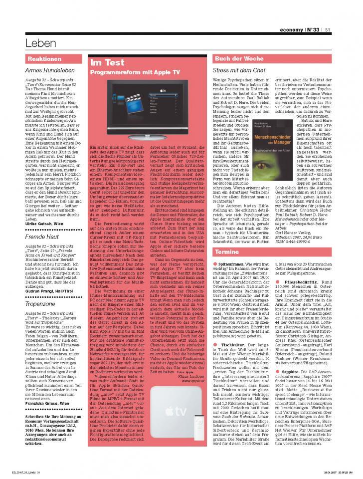 Heft Ausgabe Nr. 33 - Seite 31