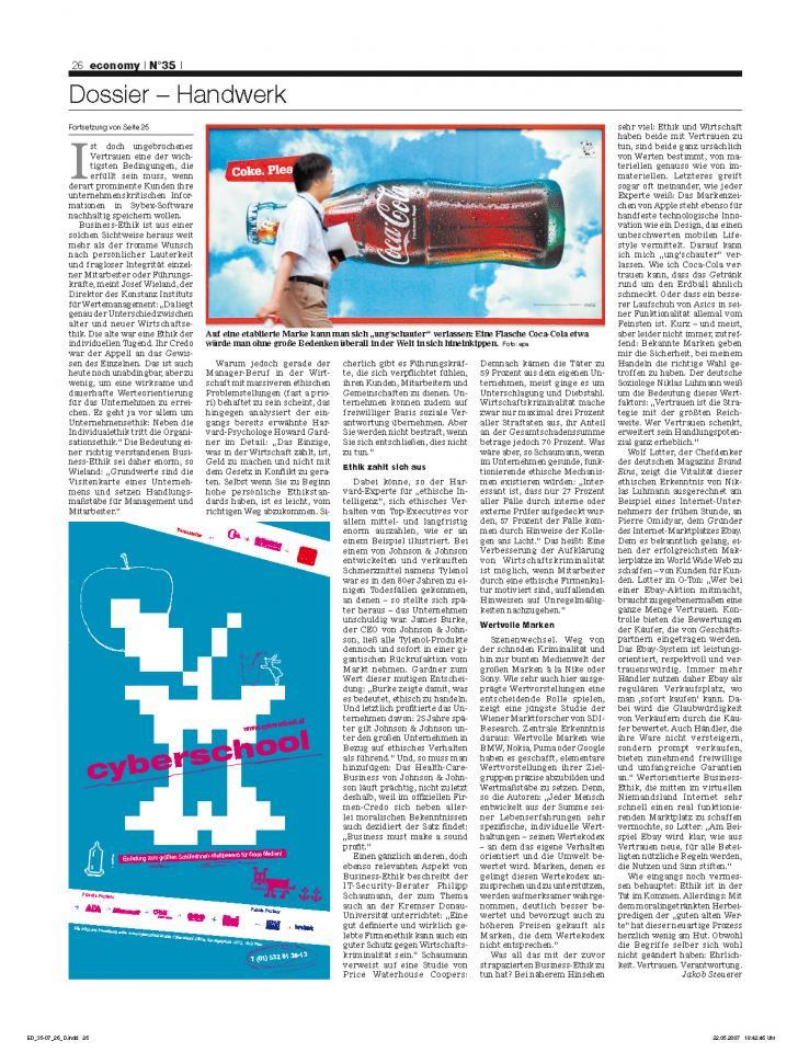 Heft Ausgabe Nr. 35 - Seite 26