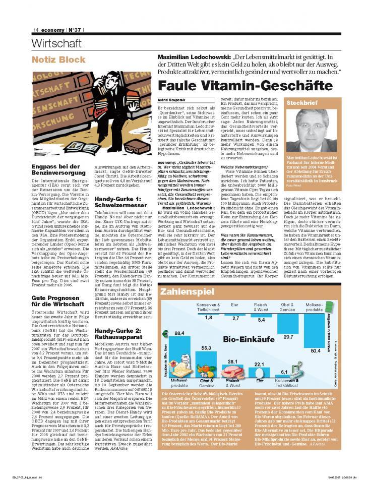 Heft Ausgabe Nr. 37 - Seite 14
