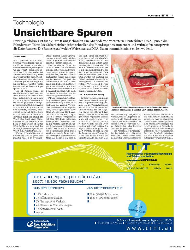 Heft Ausgabe Nr. 38 - Seite 7