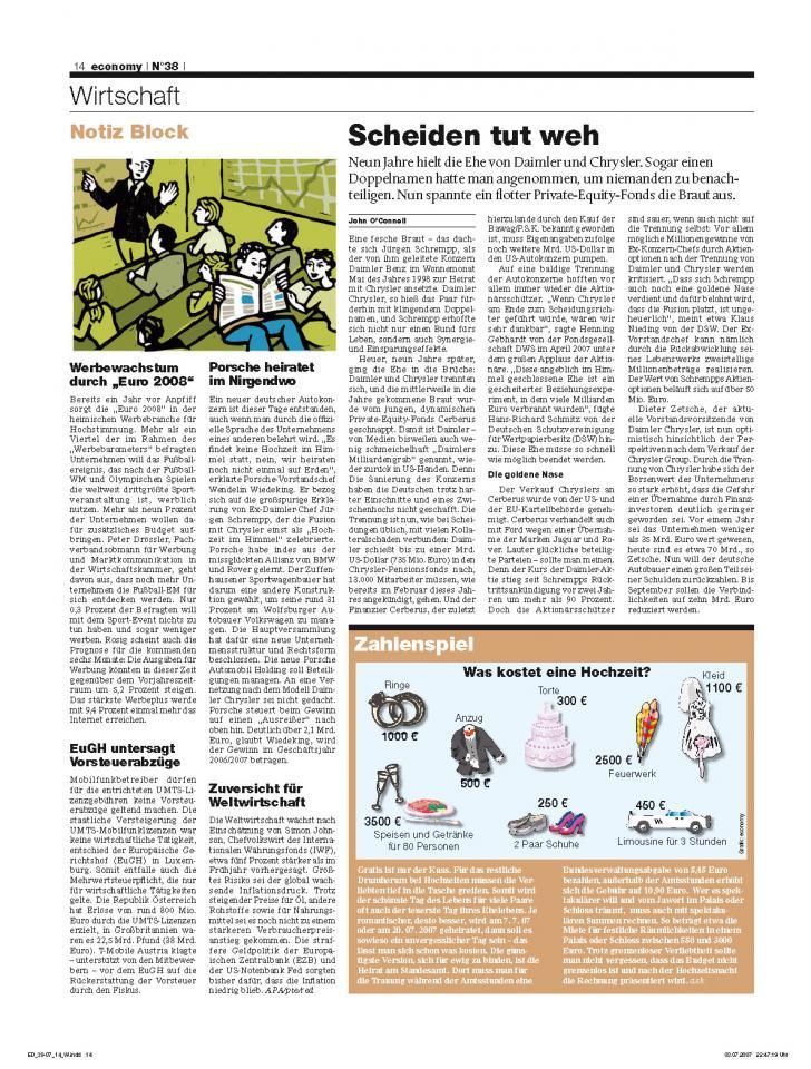 Heft Ausgabe Nr. 38 - Seite 14