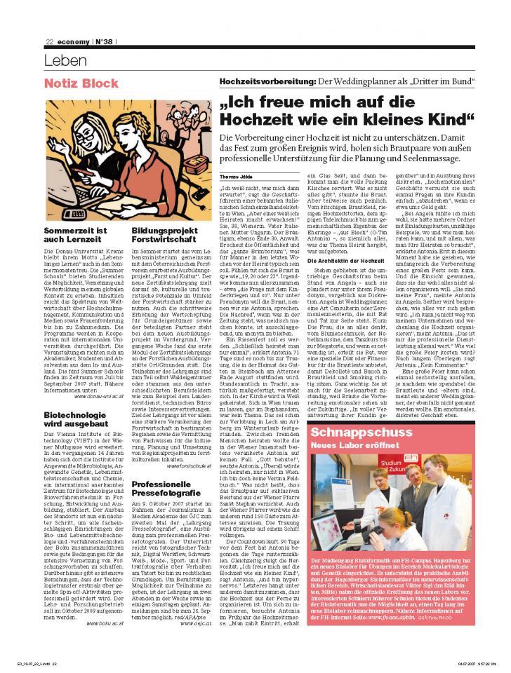 Heft Ausgabe Nr. 38 - Seite 22