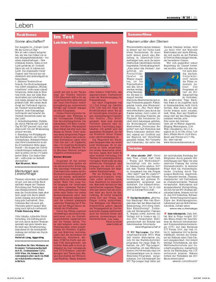 Heft Ausgabe Nr. 38 - Seite 23
