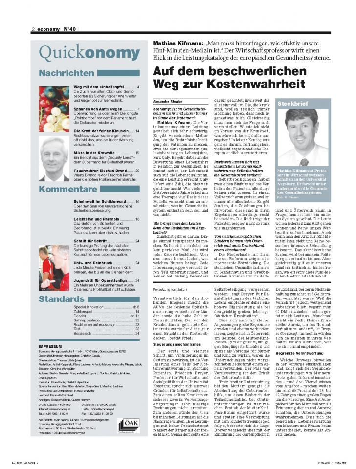Heft Ausgabe Nr. 40 - Seite 2