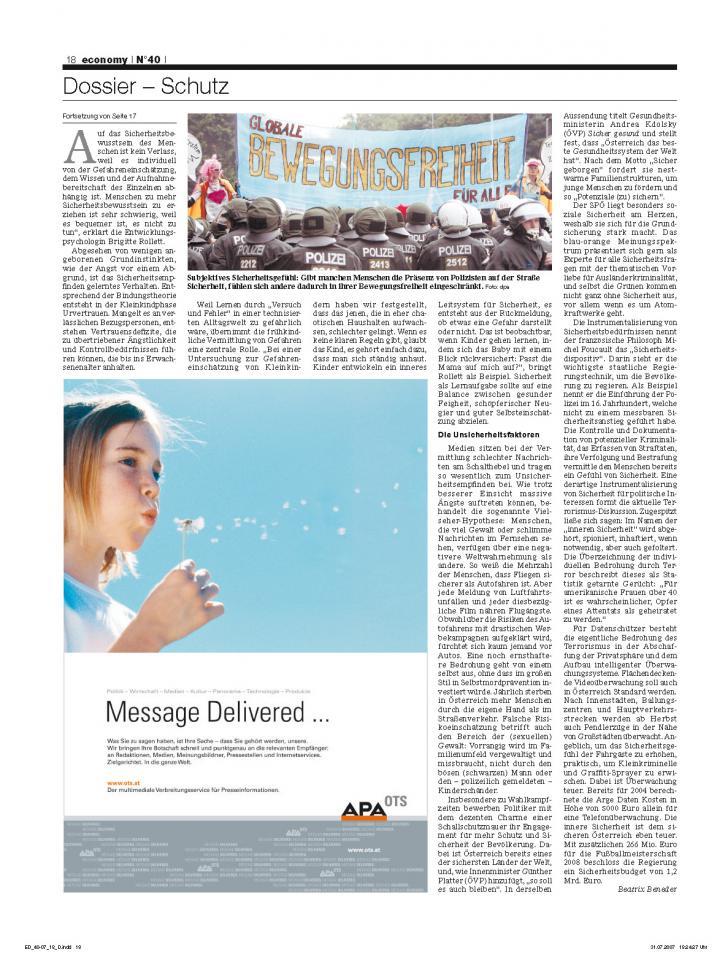 Heft Ausgabe Nr. 40 - Seite 18
