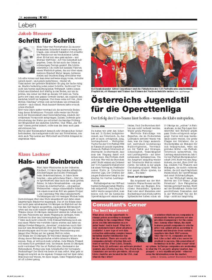 Heft Ausgabe Nr. 40 - Seite 24