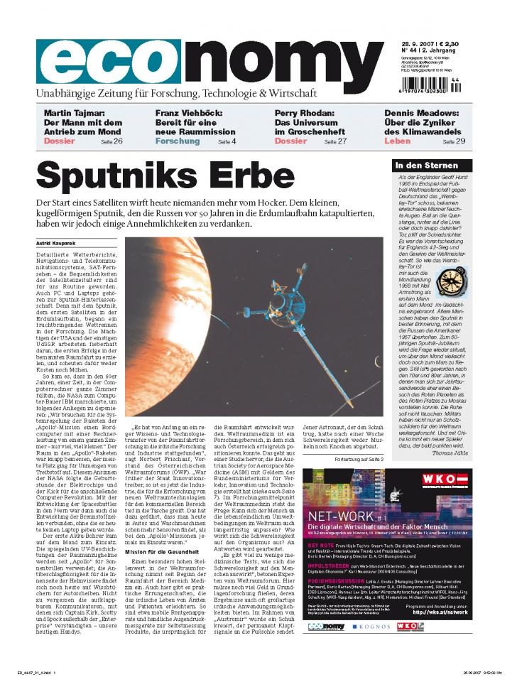 Heft Ausgabe Nr. 44 - Seite 1