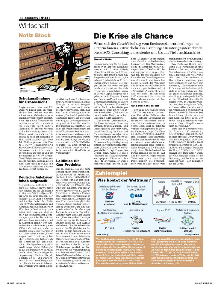 Heft Ausgabe Nr. 44 - Seite 14