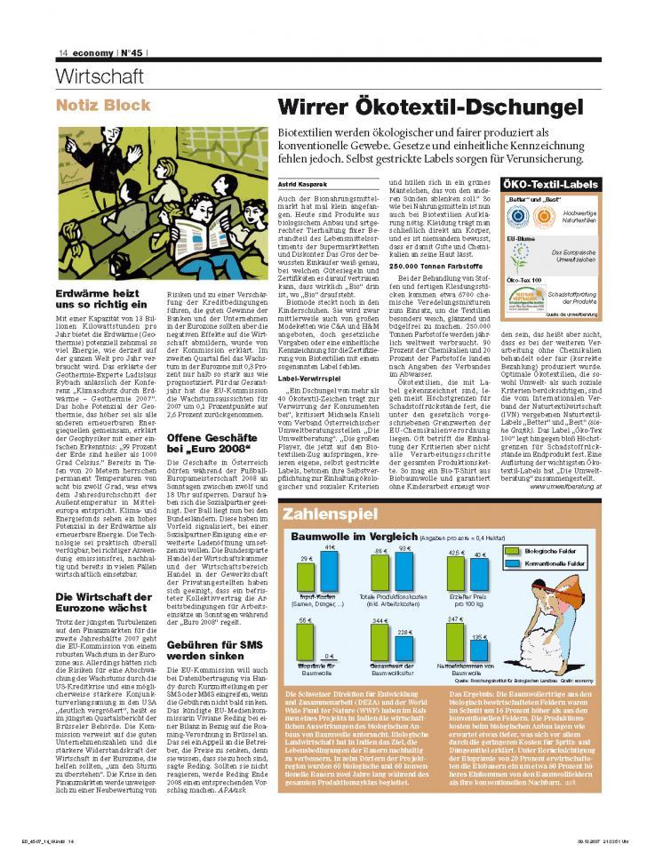 Heft Ausgabe Nr. 45 - Seite 14