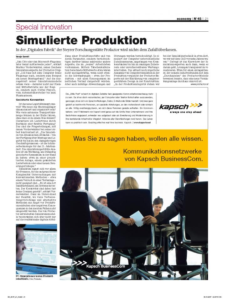 Heft Ausgabe Nr. 45 - Seite 21