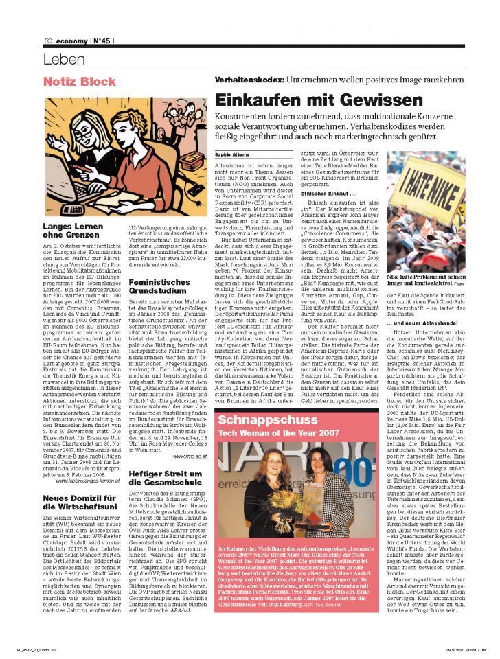 Heft Ausgabe Nr. 45 - Seite 30