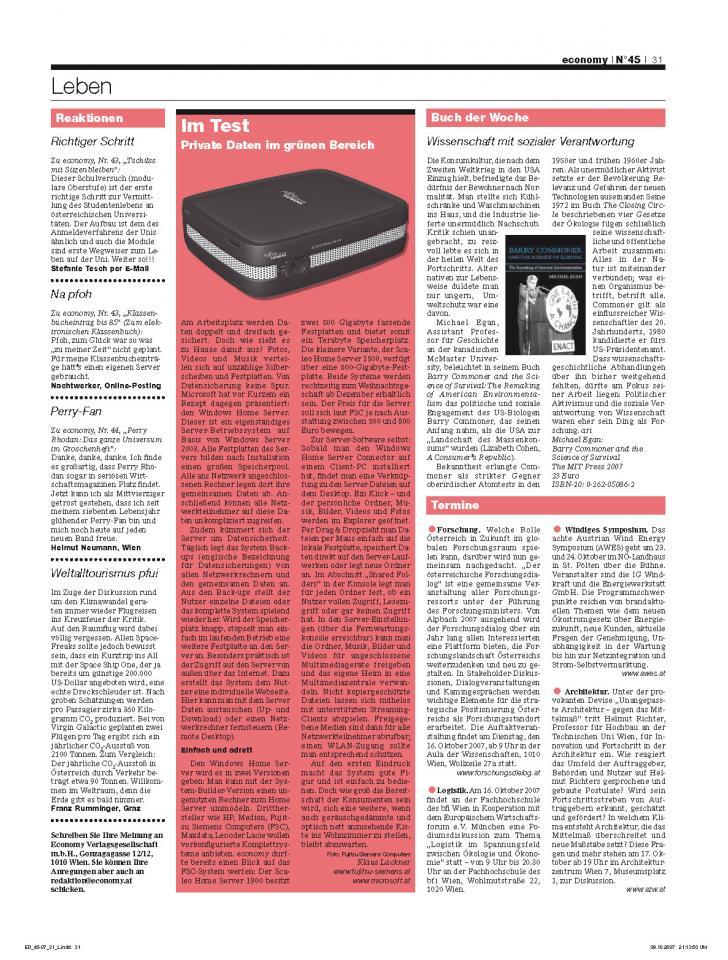 Heft Ausgabe Nr. 45 - Seite 31