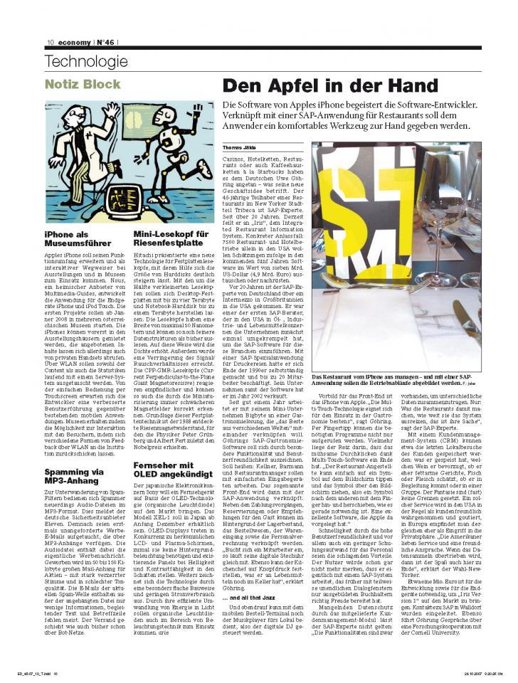 Heft Ausgabe Nr. 46 - Seite 10