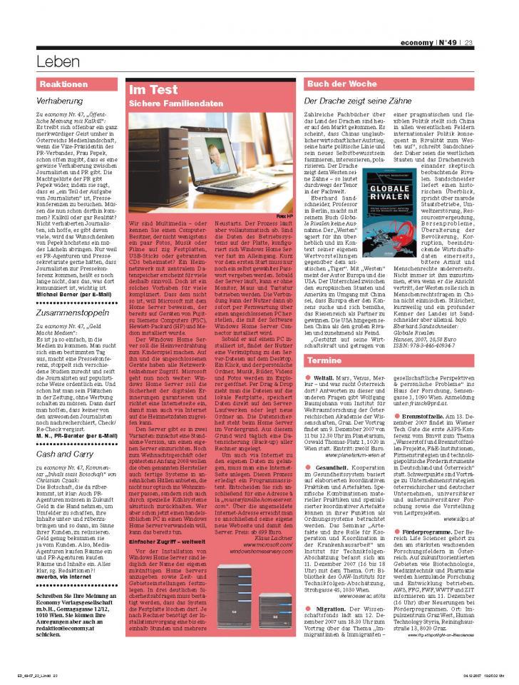 Heft Ausgabe Nr. 49 - Seite 23