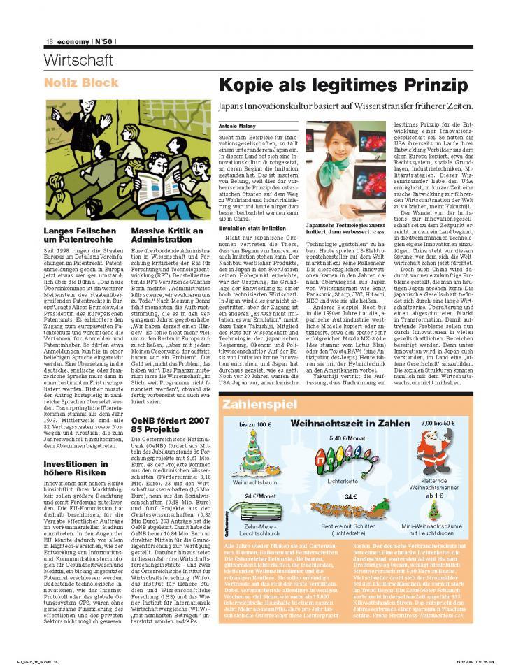 Heft Ausgabe Nr. 50 - Seite 16