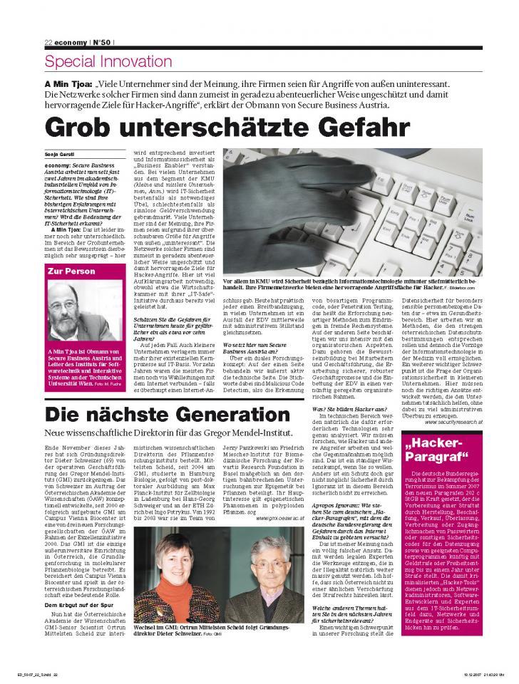 Heft Ausgabe Nr. 50 - Seite 22