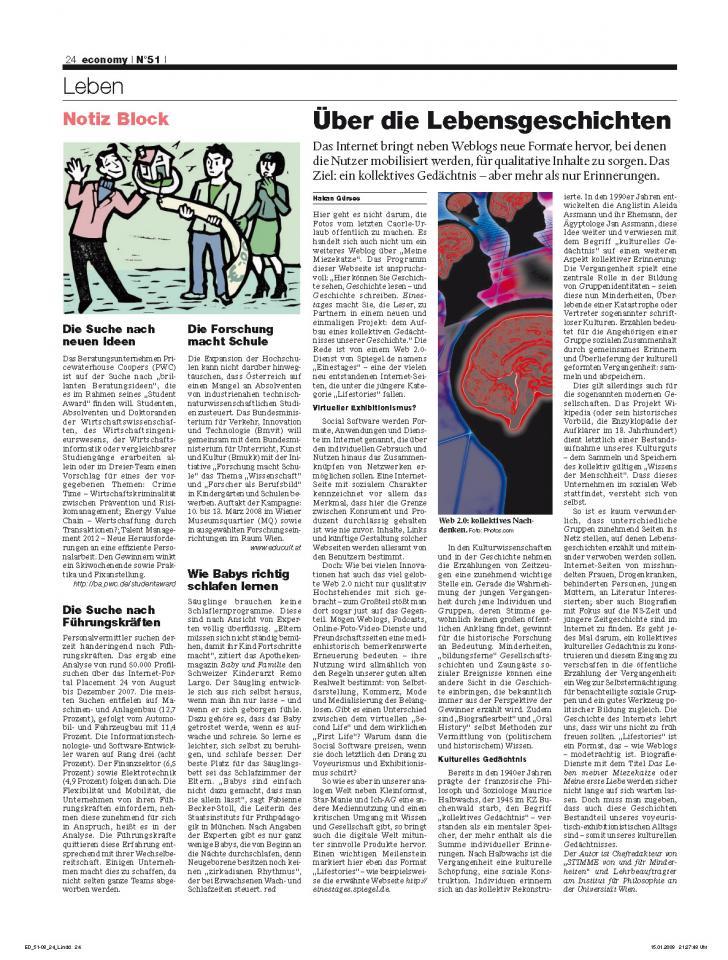 Heft Ausgabe Nr. 51 - Seite 24