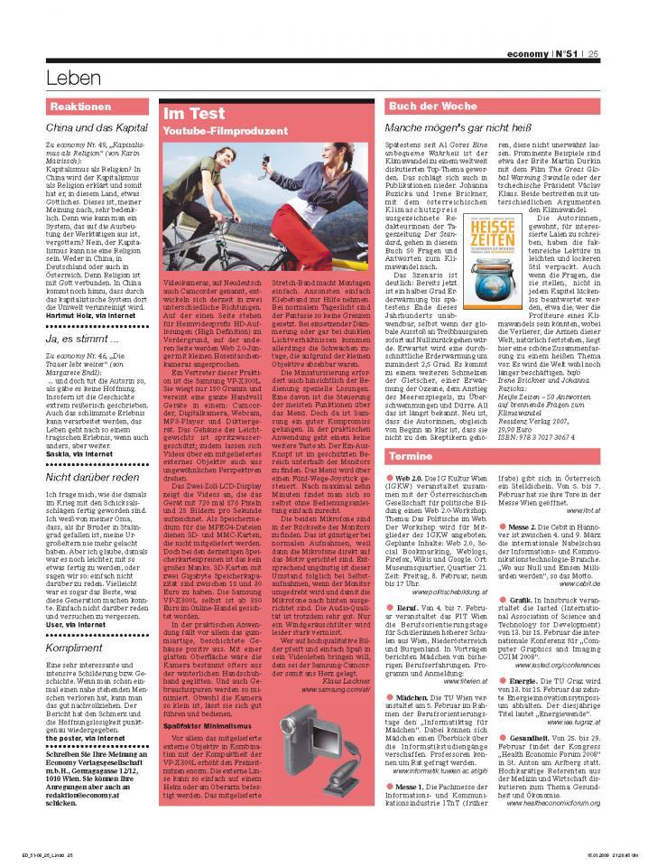 Heft Ausgabe Nr. 51 - Seite 25