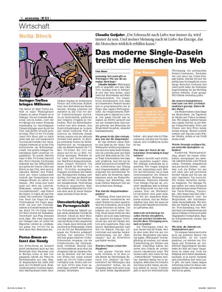 Heft Ausgabe Nr. 53 - Seite 16