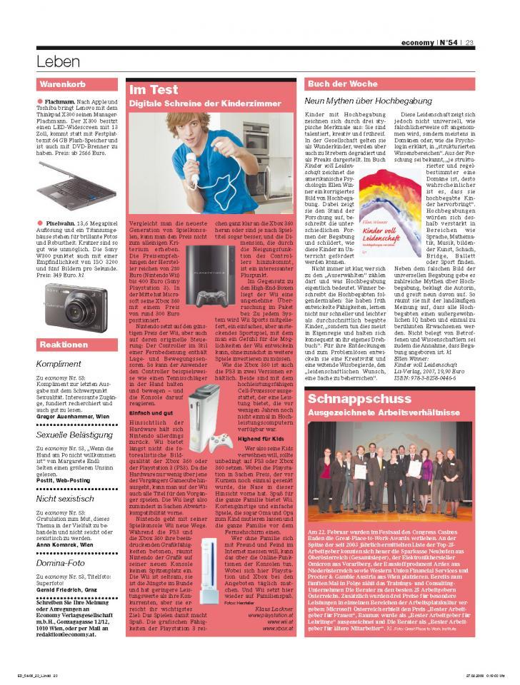 Heft Ausgabe Nr. 54 - Seite 23