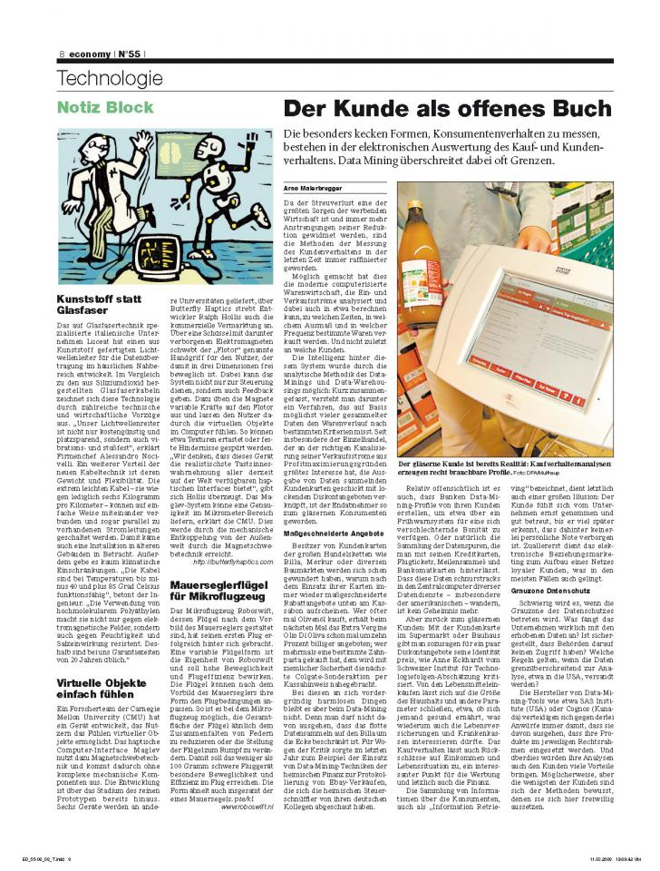 Heft Ausgabe Nr. 55 - Seite 8