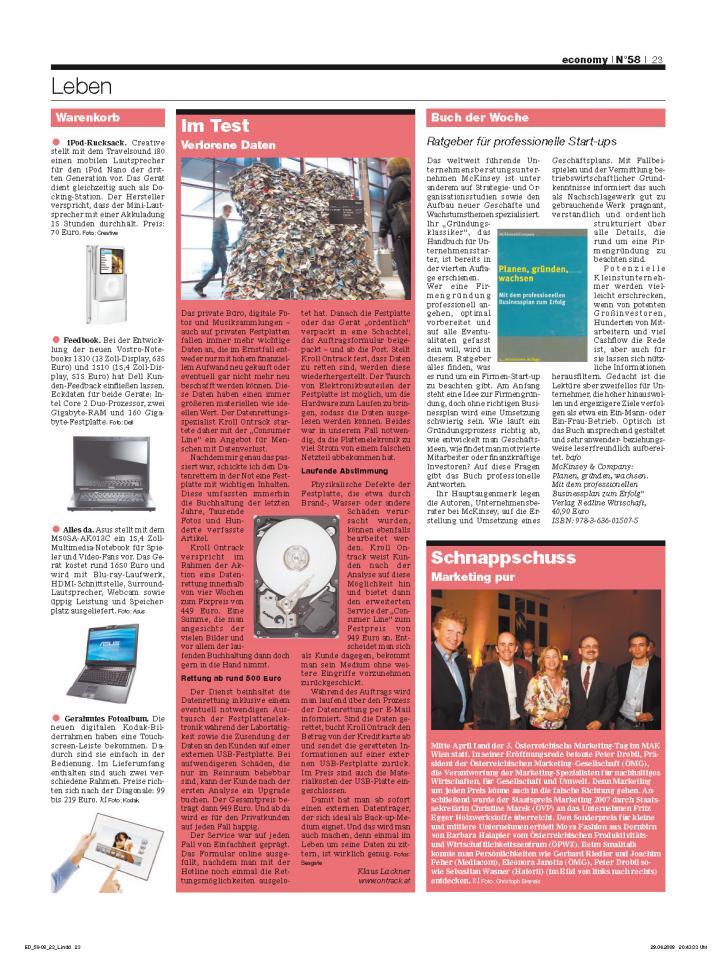 Heft Ausgabe Nr. 58 - Seite 23