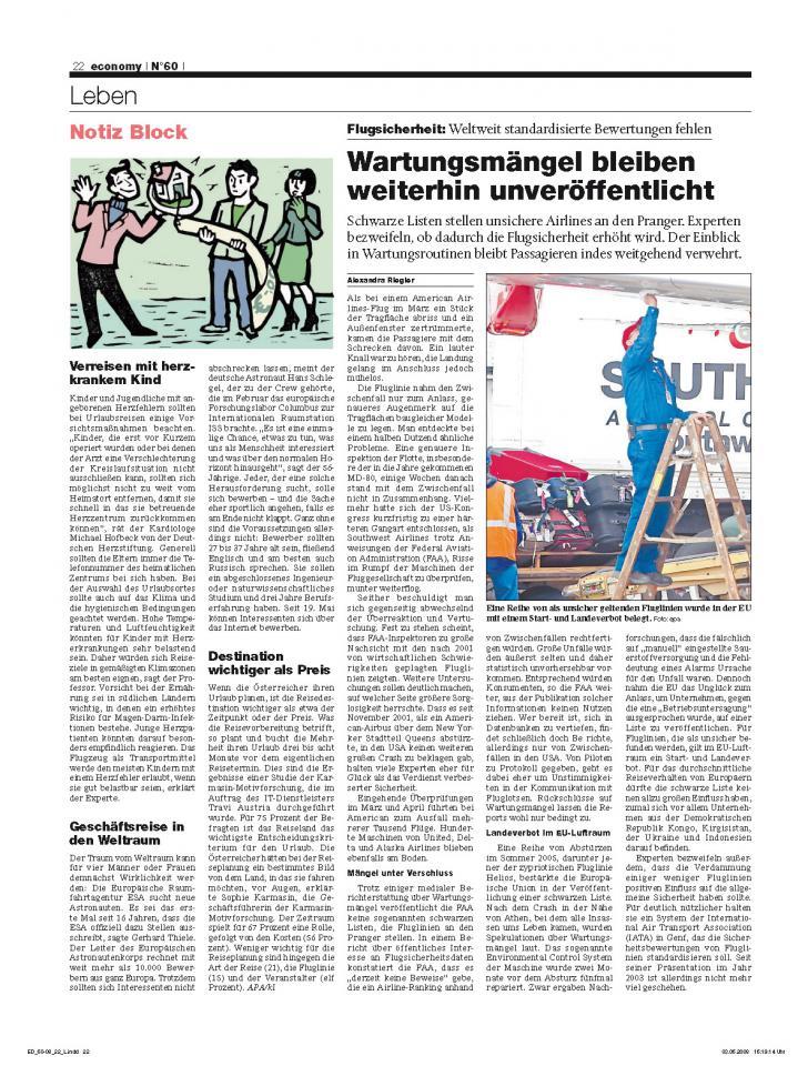 Heft Ausgabe Nr. 60 - Seite 22