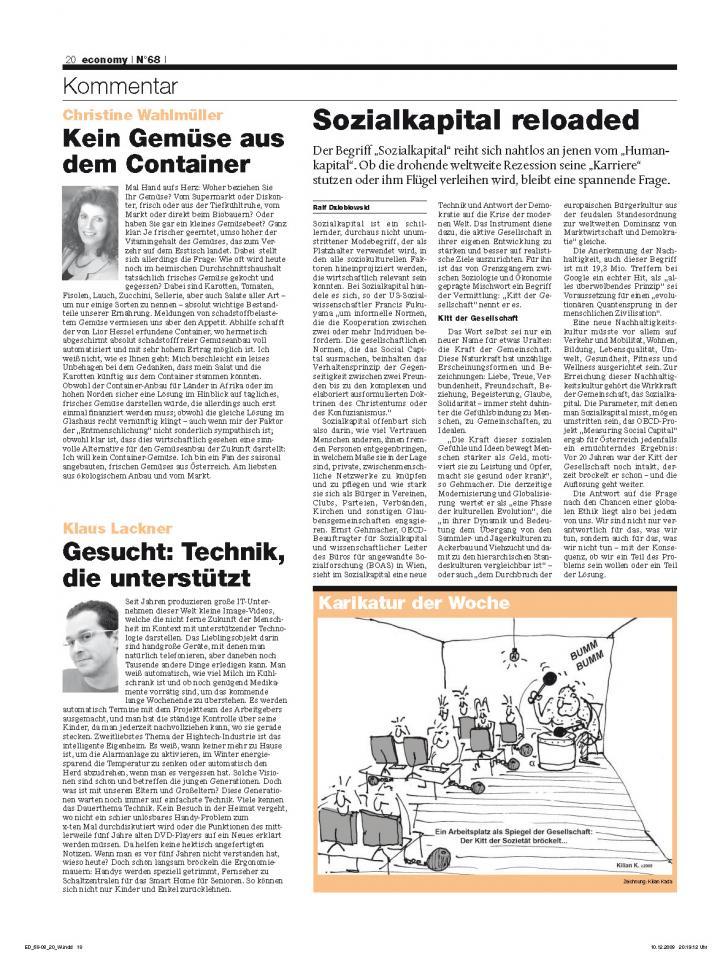Heft Ausgabe Nr. 68 - Seite 20