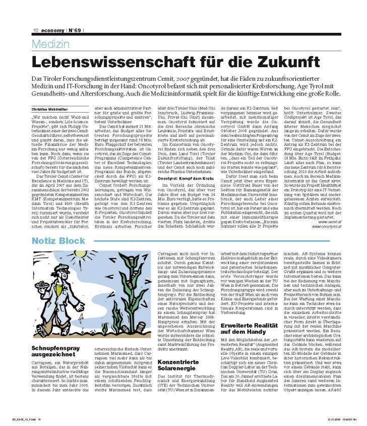 Heft Ausgabe Nr. 69 - Seite 10