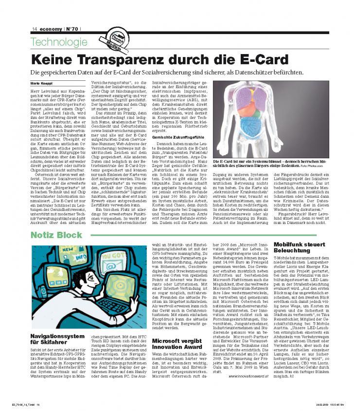 Heft Ausgabe Nr. 70 - Seite 14