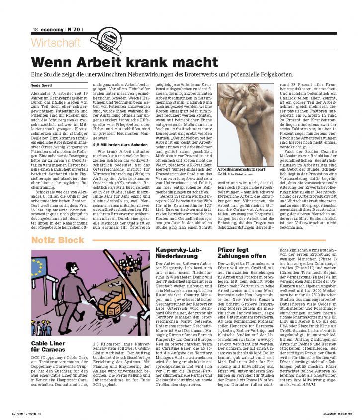 Heft Ausgabe Nr. 70 - Seite 18