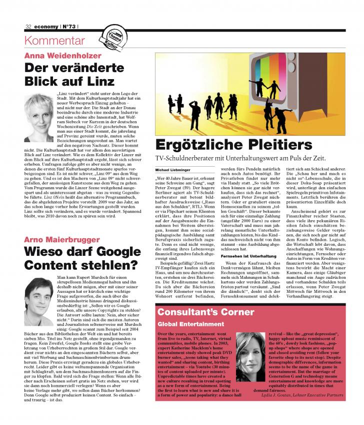 Heft Ausgabe Nr. 73 - Seite 32