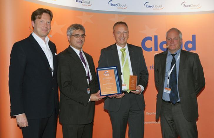 Raiffeisen Informatik gewinnt EuroCloud Austria Award
